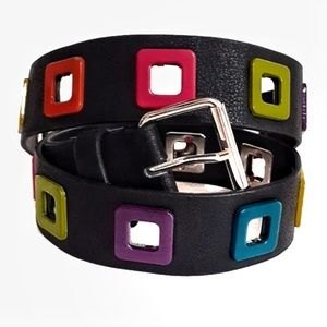 Rainbow Square Belt  - O/S